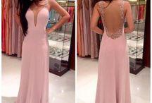 Elegant gowns.