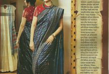 Beauty And The Baluchari / The Baluchari Silks of Bengal has its own Charm and when an eminent actress like Swastika Mukherjee drapes them, you are left with no other option but to love and desire them. A sneak peek to an article in the November edition of Sampurna Magazine dedicated to these lovely silks by Weavers Studio