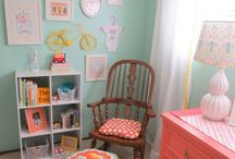 Colour combos for kids room