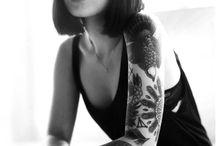 Arm tattoo's