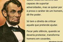 ABRAHAM LINCOLN / PERSONALIDADE