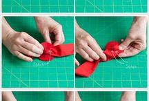Fabric flwers