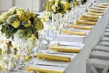 WEDDING IDEAS -YELLOW