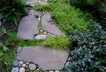 Garden paths / by Designer Gardens Landscaping