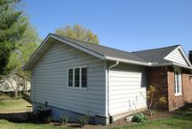 James Hardie Autumn Tan Smooth   St. Louis, Missouri (63101) / This is a siding remodel that features HardiePlank Autumn Tan and was located in Saint Louis, MO.