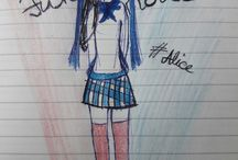 My drawing ~ >•<