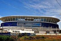 Estádios de Futebol - Soccer estadiums = Brazil