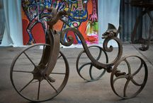 recycled iron sculptures Juan Bautista Olmedo / Great Argentinean Sculpture and painter