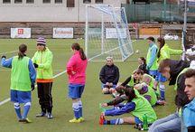 Fotky fotbalu děvčat