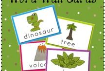 Preschool dinosaur theme