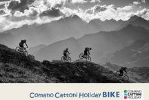 Comano Cattoni Holiday_BIKE / Gli attimi più emozionanti e adrenalinici vissuti sulle due ruote  nella splendida cornice delle Dolomiti di Brenta e del Parco Naturale Adamello Brenta