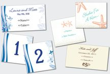 Place Cards & Table Numbers