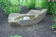 STONE BASINS AND FOUNTAINS