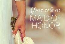Maid Of Honor / Dresses and ideas for my friends weddings