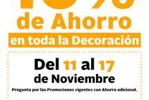 BUENA SEMANA 11 al 17 de Noviembre 2016 / ¡La #BuenaSemana llegó! Aprovecha el 10% de Ahorro en toda la tienda de #HomeInteriorsMx. Del 11 al 17 de Noviembre.  *Pregunta por las Promociones vigentes con Ahorro adicional. http://bit.ly/2fjImqe