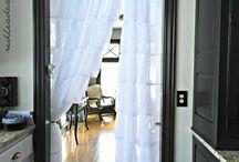 """Otros usos: Cortinas / Recopilación de fotografías de otros usos no """"habituales"""" de las cortinas para inspirarse Curtains"""