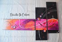 ARTS: Etincelles de Couleur by Kris / choisir un tableau pour mon bureau...