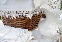 Toalhas, bordados e barras