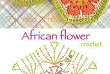 африканский цветок и всё из него
