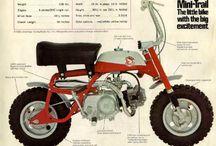 Honda Mini-Trail and CT Mini Bikes