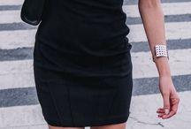 little black dress inspo