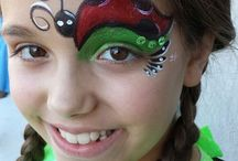 Nature face painting