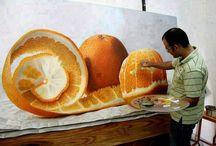 Hyper-realistic art