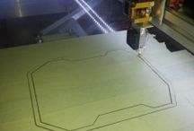 Stampa 3d / Fasi di stampa 3d di un drone meccanico