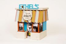 Crafts - Miniature Houses