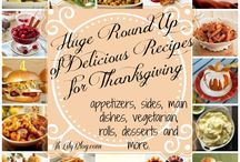 Thanksgiving Recipes / Family Favorite Thanksgiving Recipes for Thanksgiving Dinner, Side Dishes and Desserts. Check out PassionForSavings.com for more ideas each week!  / by Passion For Savings