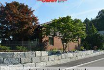 """Natursteinmauer...Mauer aus Natursteinen - Stützmauer / Firma B&M GRANITY - Es gibt so unterschiedliche Natursteinmauer...klassisch, modern, rustikal, """"auf alt gemacht""""…Jeder Mensch hat eigene Visionen, Vorstellungen…Die menschliche Kreativität ist unbegrenzt…Vielleicht finden Sie bei uns eine Inspiration? Das wäre wunderbar!  www.pflastersteineundnatursteine.de"""