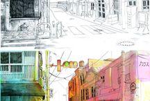 dessiner rues et architecture