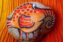 malování kamenů