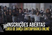 CURSO DE DANÇA CONTEMPORÂNEA ONLINE