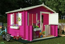 Playhouses for the Kids / Children's Outdoor Garden Playhouses