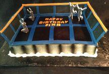 Dodgeball cake
