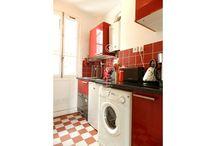 Red kitchens of Paris