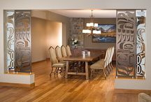 drawing dining partition