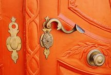 ORANGE / Shades of tangerine, amber, mandarin and  salmon. It's all about Orange in this category.  / by Christie Schrader