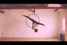 Aerial Hoop / Hoopseration for the air.