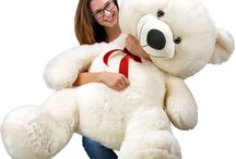 Christmas Gift Teddy Bear Giant Large XXL Big Plush Toys White Girl Friend Kids