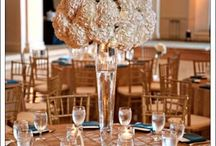 ~ Linen ~ / Some inspiration for show stopping Linens. A crisp white linen makes more of an impact than you would think...