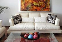 Cuadros y Diseño Interior / En esta sección encontrarás la manera que puedes decorar tus espacios con el arte de Victoria Goren