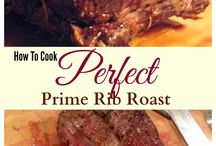 prime rib, steak ,roast, chicken and pork