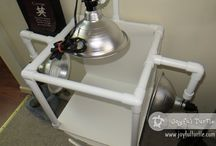 PVC Projects and Ideas / Projects that can be made using PVC pipes and fittings, PVC ideas