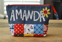 Applique pouch