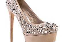 Bling-y Wedding Shoes