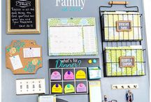 Home Command Center / Create a fun, designated, ORGANIZED space to run your household