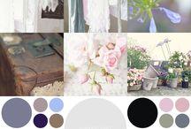 Inspiration colour palettes