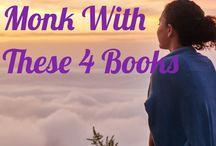 knihy, meditace